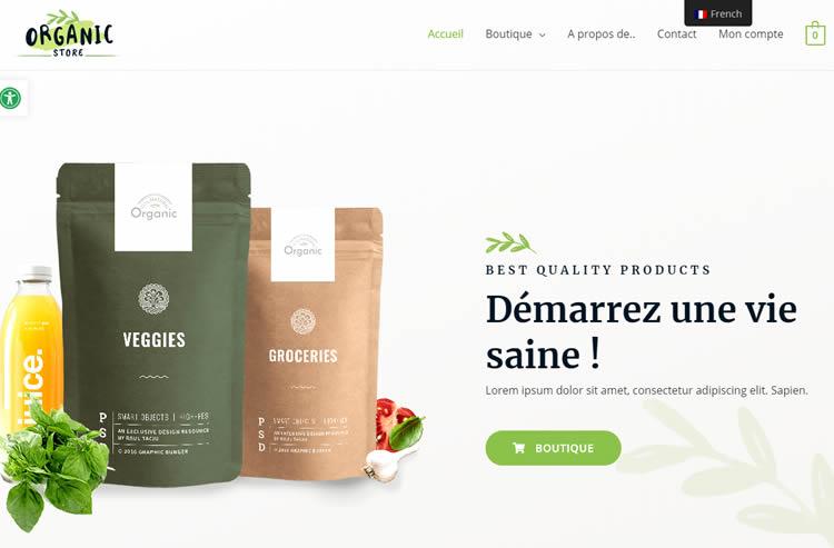 e-commerce bilingue