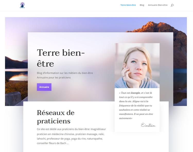 aperçu site terrebienetre.fr